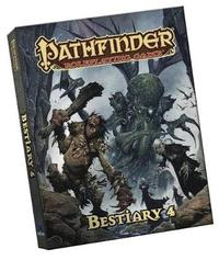 Pathfinder Roleplaying Game: Bestiary 4 Pocket Edition by Paizo Staff