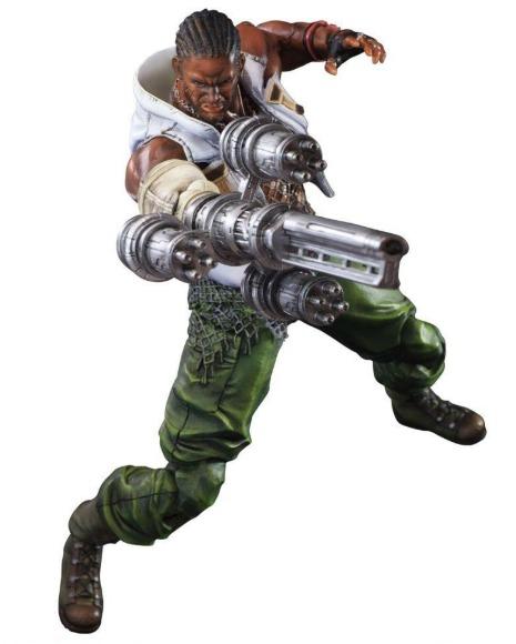 Final Fantasy VII Advent Children: Barret Wallace - Play Arts Kai Figure
