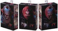 """It (2017): Pennywise """"I Heart Derry"""" - 7"""" Action Figure image"""