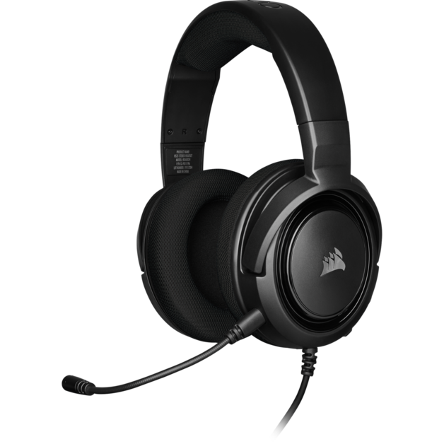 Corsair HS35 Stereo Gaming Headset (Black) for PC