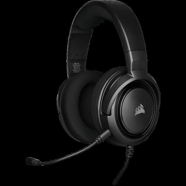 Corsair HS35 Stereo Gaming Headset (Black) for PC
