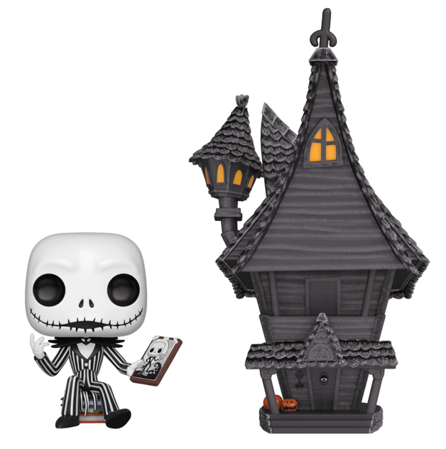The Nightmare Before Christmas - Jack Skellington's House Pop! Town Diorama Set