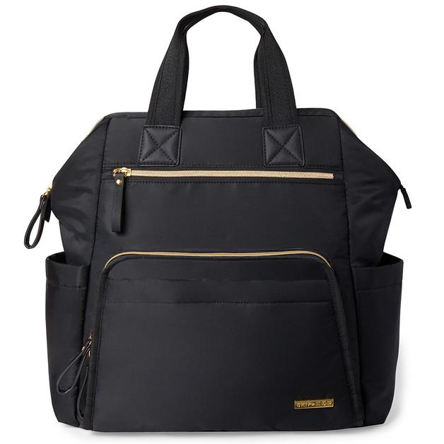 Skip Hop: Main Frame Wide Open Backpack - Black