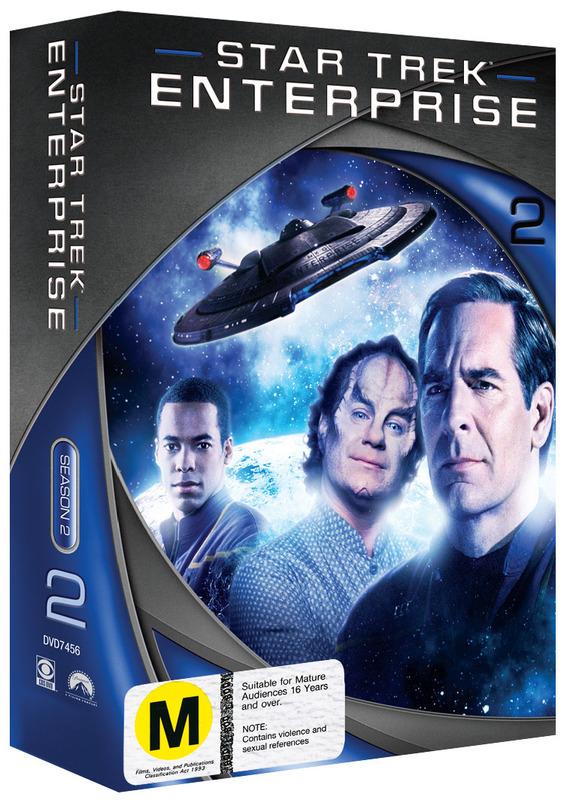 Star Trek: Enterprise - Season 2 (New Packaging) on DVD