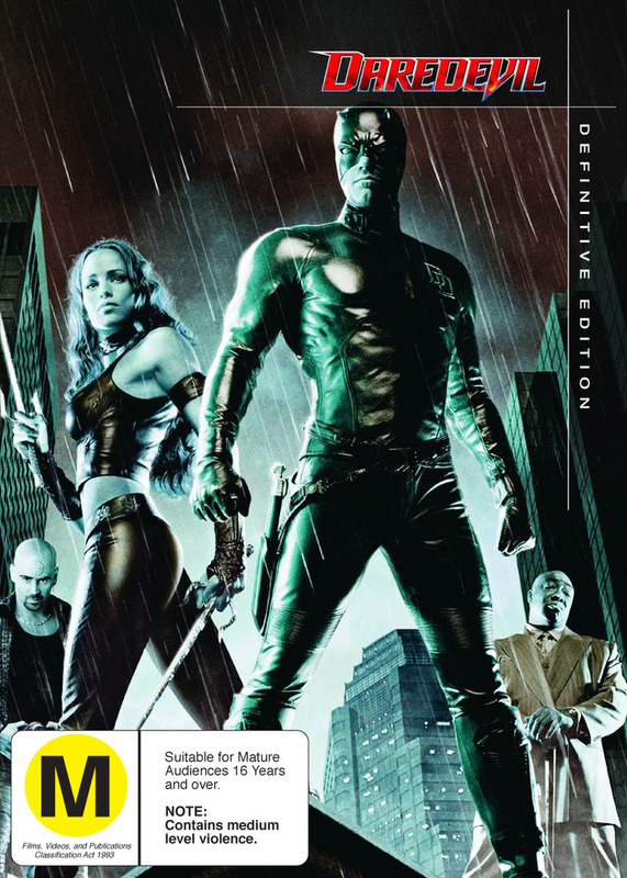 Daredevil - Definitive Edition (2 Disc Set) on DVD