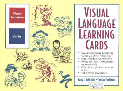 Japanese Verbs: Visual Language Learning Cards by B. J. Demillion image