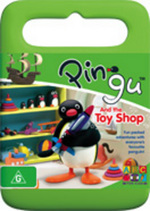 Pingu and the Toy Shop on DVD
