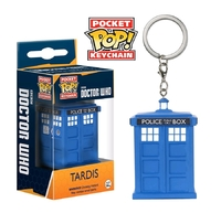 Dr Who - TARDIS Pocket Pop! Key Chain