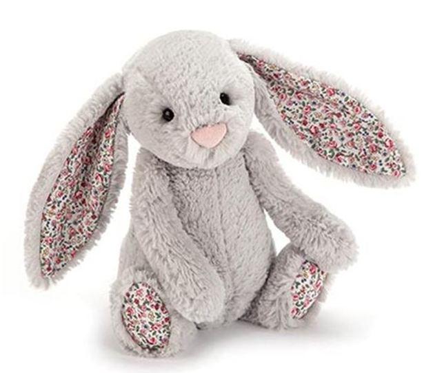 Jellycat: Blossom Bashful Bunny - Silver (Medium)