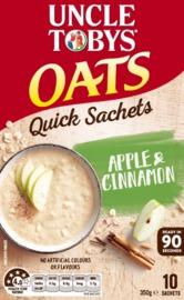 Uncle Tobys Oats (Apple & Cinnamon 350g)