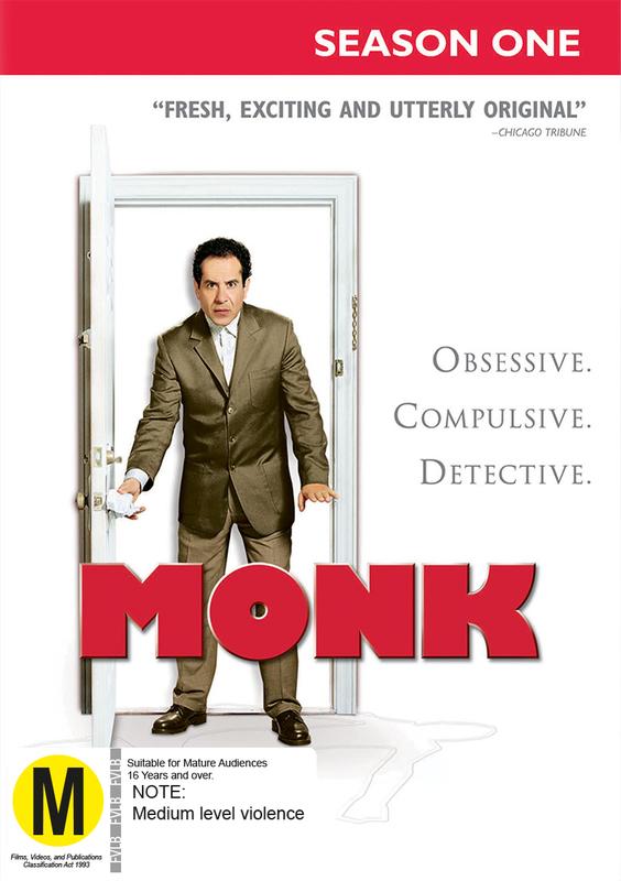 Monk - Season One on DVD