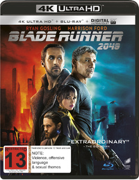 Blade Runner 2049 (4K UHD + Blu-ray) on UHD Blu-ray
