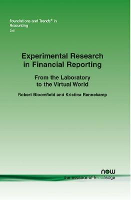 Experimental Research in Financial Reporting by Robert Bloomfield image