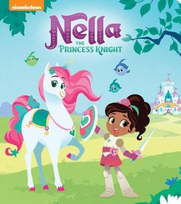 Nella the Princess Knight Board Book (Nella the Princess Knight) by Random House image