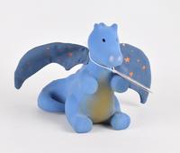 Tikiri: Rubber Teether and Rattle - Midnight Dragon