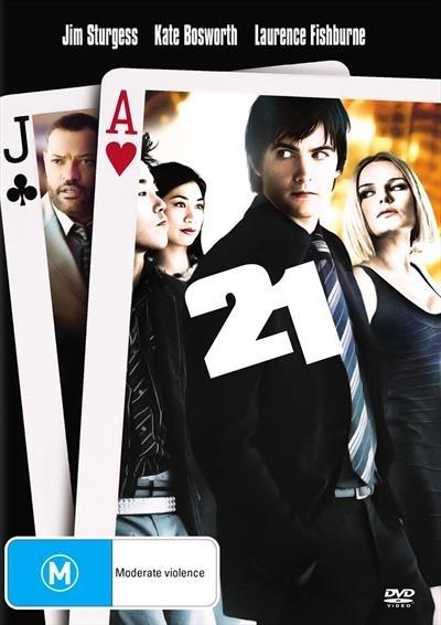 21 on DVD image