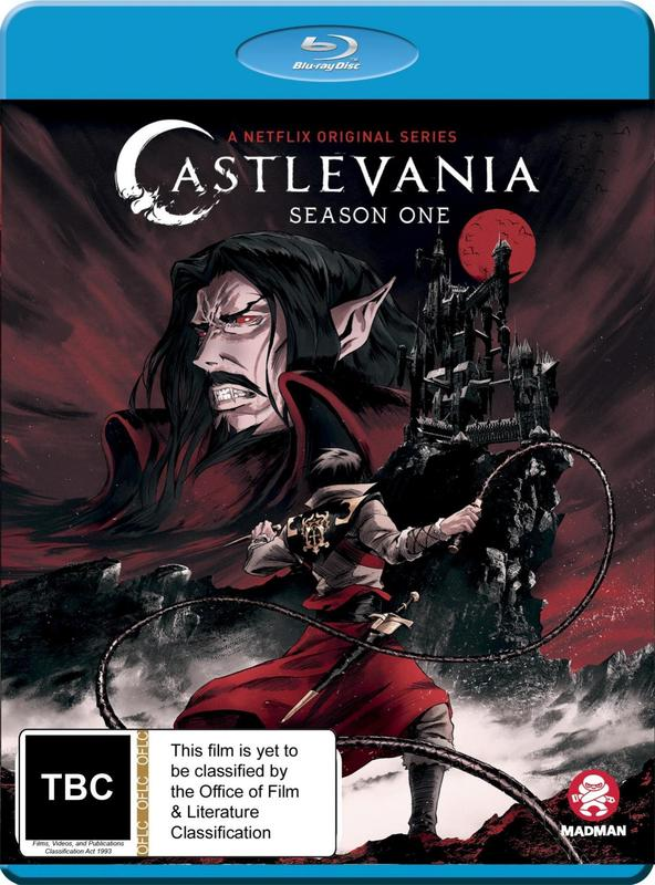 Castlevania: Complete Season 1 on Blu-ray