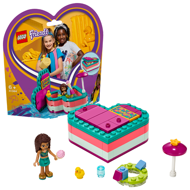 LEGO Friends: Andrea's Summer Heart Box - (41384)