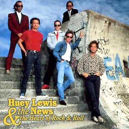 Heart Of Rock & Roll-Best Of by Huey Lewis & The News image