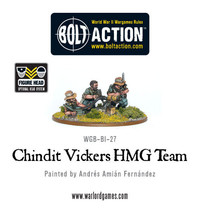 British Forces: Chindit Vickers MMG & Crew