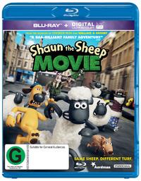 Shaun the Sheep Movie on Blu-ray