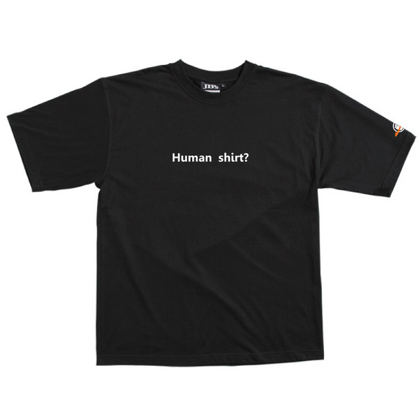 Human Shirt - Tshirt (Black) for  image
