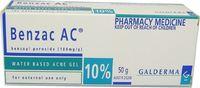 Benzac AC Gel 10% for Acne Treatment (50g)