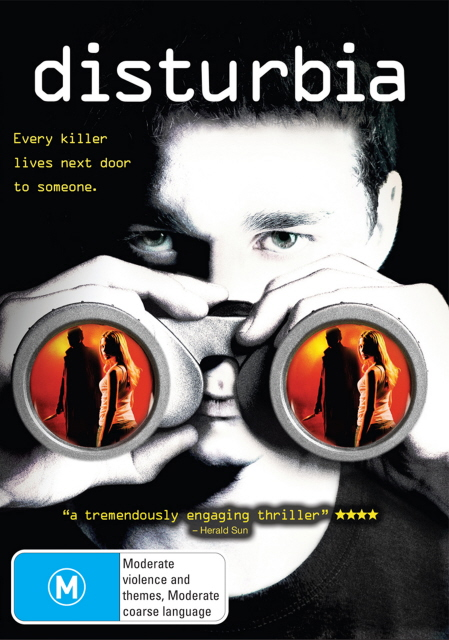 Disturbia on DVD image