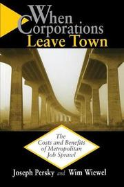 When Corporations Leave Town by Joseph J. Persky