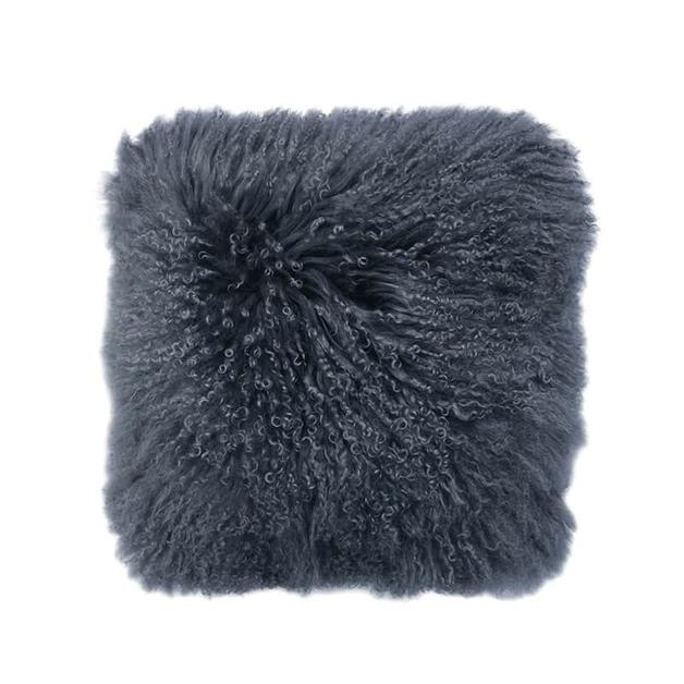 Bambury Mongolian Lambswool Cushion (Dusk)