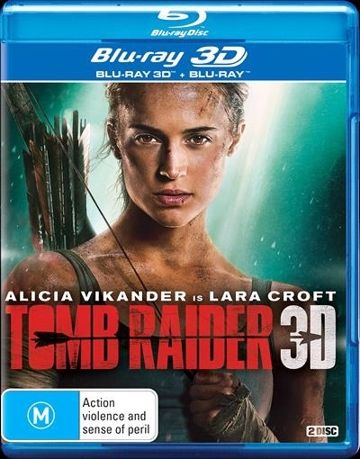 Tomb Raider on Blu-ray, 3D Blu-ray image