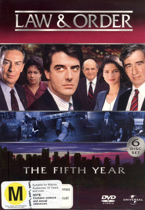 Law & Order - The 5th Year (6 Disc Set) on DVD image