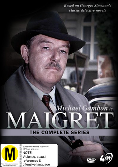 Maigret: The Complete Series on DVD