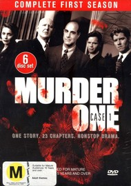 Murder One: Case 1 - Complete First Season (6 Disc Box Set) on DVD image