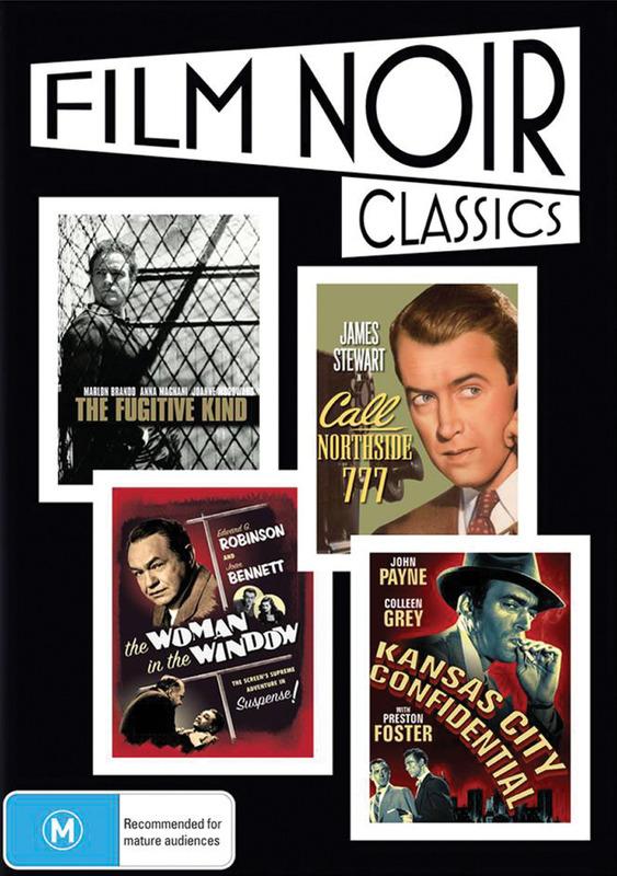 Film Noir Classics (4 Disc Set) on DVD