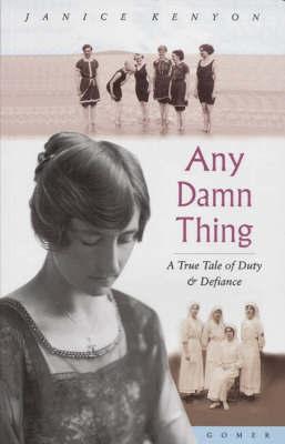 Any Damn Thing by Janice Kenyon image