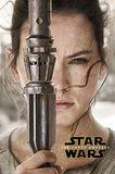 Star Wars 7 Rey Teaser Wall Poster