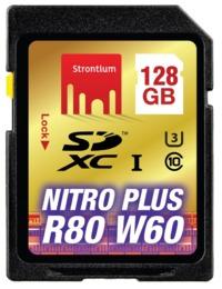 128GB Strontium NITRO Plus Series SD Card