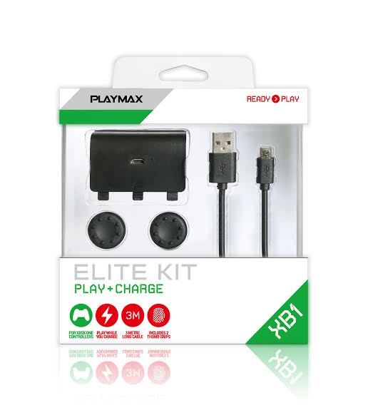 Playmax Xbox One Play & Charge Elite Kit for Xbox One