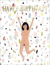 Red Cap: Birthday Suit Greeting Card