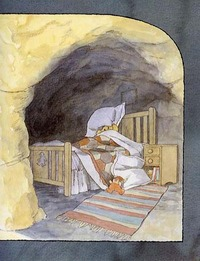 Can't You Sleep, Little Bear? (Kate Greenaway Medal Winner) by Martin Waddell image