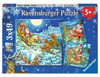 Ravensburger: 3x49pc Jigsaw Puzzle Set - Christmas Magic