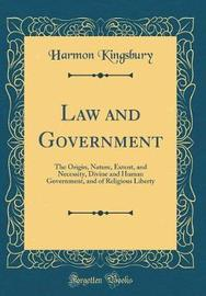 Law and Government by Harmon Kingsbury image