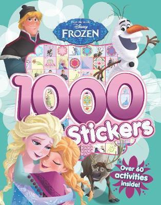 Disney Frozen 1000 Stickers by Parragon Books Ltd image