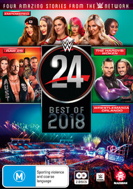 WWE: WWE 24: The Best Of 2018 on DVD