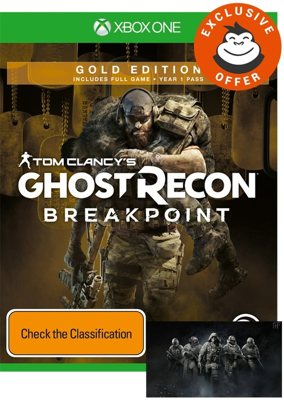 Tom Clancy's Ghost Recon Breakpoint Gold Edition for Xbox One