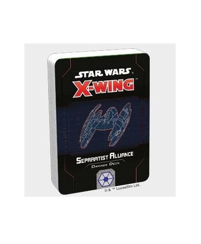 Star Wars X-Wing Second Edition Separatist Alliance Damage Deck