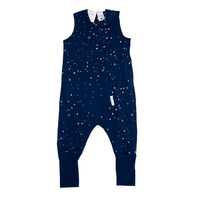 Woolbabe: 3-Seasons Sleeping Suit Tekapo Stars - 3 Years