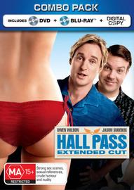 Hall Pass: Combo Pack - Blu-ray / DVD / Digital  (2 Disc Set) on DVD, Blu-ray, DC