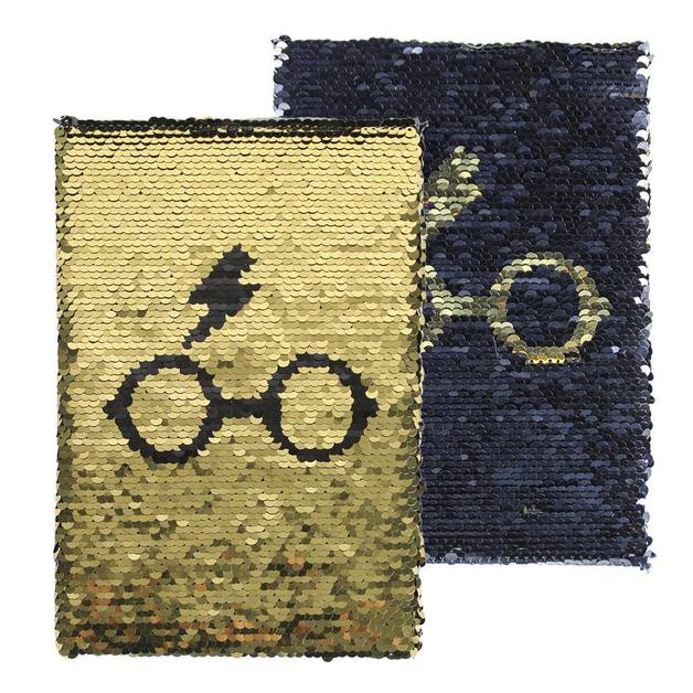 Harry Potter: Notebook A5 Sequin - Harry